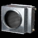 Канальные водяные нагреватели воздуха для системы вентиляции