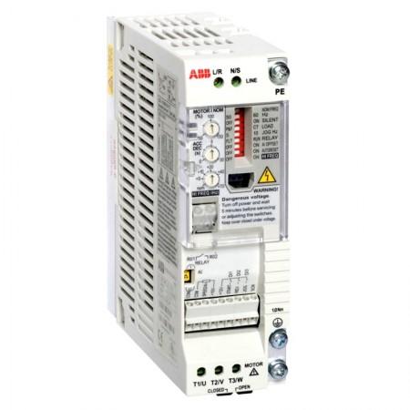 Частотный преобразователь ABB ACS55-01E-04A3-2 0,75 кВт 1-фаз.