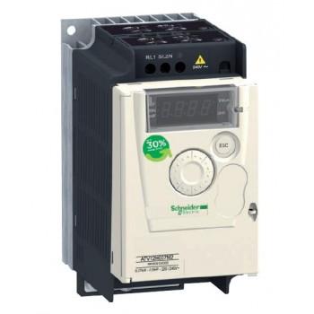 Частотный преобразователь Schneider Electric 0,37 кВт 1-фаз. ATV12H037M2