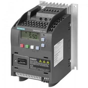 Частотный преобразователь Siemens SINAMICS V20 6SL3210-5BB15-5UV0 0,55 кВт/1 фаз.