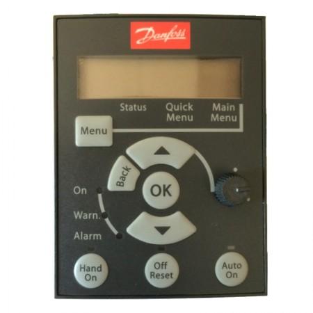 Панель управления Danfoss LCP 12 с потенциометром 132B0101 для MicroDrive FC 51