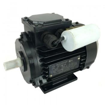 Электродвигатель однофазный асинхронный АИРЕ 63В2 (АИРЕ63В2) 0.37 кВт 3000об/мин