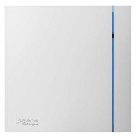Вытяжной вентилятор Soler&Palau SILENT-100 CHZ SILVER DESIGN - 3C