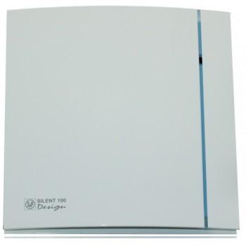 Вытяжной вентилятор с низким уровнем шума Soler&Palau SILENT-100 CRZ DESIGN - 3C