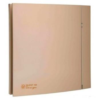 Вытяжной вентилятор с низким уровнем шума Soler&Palau SILENT-100 CZ CHAMPAGNE DESIGN - 4C