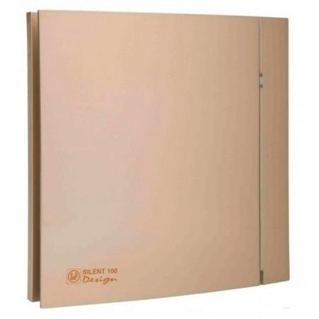 Вытяжной вентилятор Soler&Palau SILENT-100 CZ CHAMPAGNE DESIGN - 4C