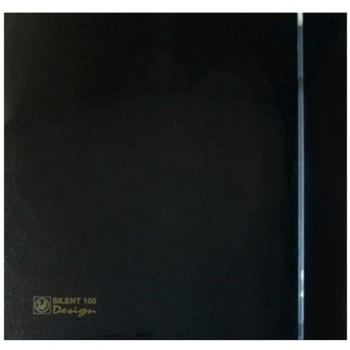 Вытяжной вентилятор с низким уровнем шума Soler&Palau SILENT-100 CZ BLACK DESIGN - 4C