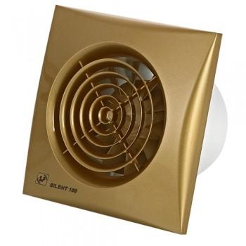 Вытяжной вентилятор с низким уровнем шума Soler&Palau SILENT-100 CZ GOLD