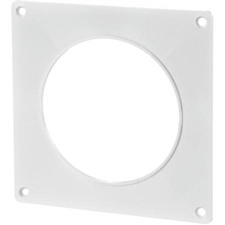 25 Пластина настенная d125 для круглых каналов
