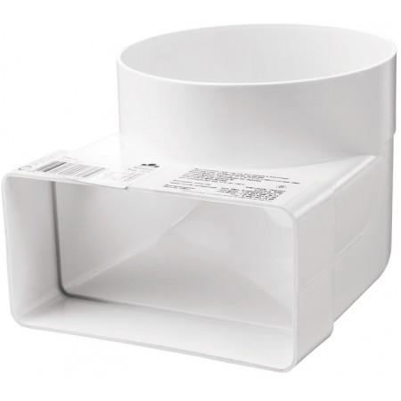 521 Колено соединительное 55х110-100 для плоских и круглых каналов