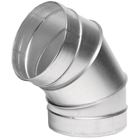 Отвод ВЕНТС 45-150 для вентиляционных каналов
