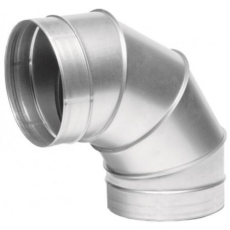 Отвод ВЕНТС 90-150 для вентиляционных каналов