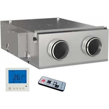 Вентиляционная приточно вытяжная установка ВЕНТС ВУЭ2 150 П ЕС Комфо (VENTS) с рекуперацией тепла