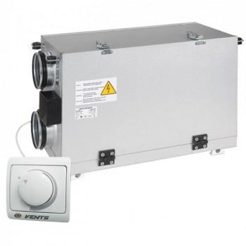 Вентиляционная приточно вытяжная установка ВЕНТС ВУТ 300 Г мини (VENTS) с рекуперацией тепла