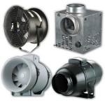 Промышленные вентиляторы и вытяжки