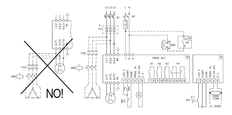 Электрическая схема подключения упп Lovato Electric 51ADX0125B 59 кВт