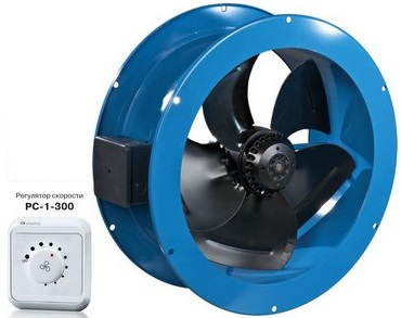Регулировка скорости вентилятора ВЕНТС ВКФ 4Е 450